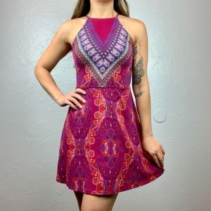 Xhilaration boho paisley dress size XS